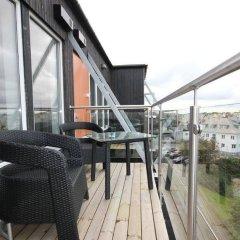 Отель Flotmyrgården Apartment Hotel Норвегия, Гаугесунн - отзывы, цены и фото номеров - забронировать отель Flotmyrgården Apartment Hotel онлайн балкон