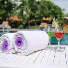 Отель Phu Thinh Boutique Resort And Spa Хойан бассейн