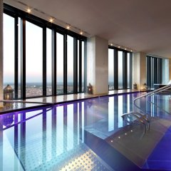 Отель Eurostars Madrid Tower Мадрид бассейн фото 2