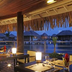 Отель Sofitel Bora Bora Marara Beach Resort Французская Полинезия, Бора-Бора - отзывы, цены и фото номеров - забронировать отель Sofitel Bora Bora Marara Beach Resort онлайн питание фото 4