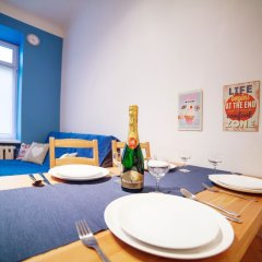 Апартаменты Blue Happy Apartment Варшава комната для гостей фото 3