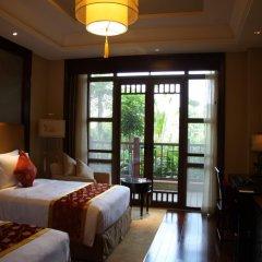 Отель Xiamen Aqua Resort 5* Улучшенный номер с различными типами кроватей фото 2