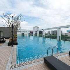 Отель Tc Green By Jummie Бангкок бассейн фото 3