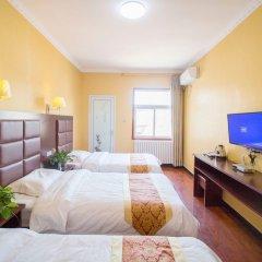 Отель Hongrui Business Hotel Xi'an Airport Китай, Сяньян - отзывы, цены и фото номеров - забронировать отель Hongrui Business Hotel Xi'an Airport онлайн комната для гостей фото 5