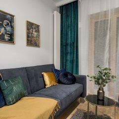 Отель Mennica Residence Chic Apartment Польша, Варшава - отзывы, цены и фото номеров - забронировать отель Mennica Residence Chic Apartment онлайн комната для гостей фото 3