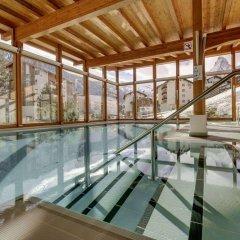 Отель Metropol & Spa Zermatt Швейцария, Церматт - отзывы, цены и фото номеров - забронировать отель Metropol & Spa Zermatt онлайн бассейн фото 3