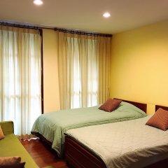 Отель Chan Guest Villa Бангкок комната для гостей
