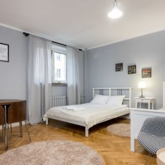 Апартаменты Browarna Guest Apartment Варшава комната для гостей фото 4