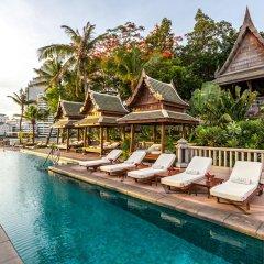 Отель The Peninsula Bangkok Таиланд, Бангкок - 1 отзыв об отеле, цены и фото номеров - забронировать отель The Peninsula Bangkok онлайн бассейн фото 3