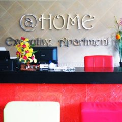 Апартаменты At Home Executive Apartment Паттайя интерьер отеля фото 2