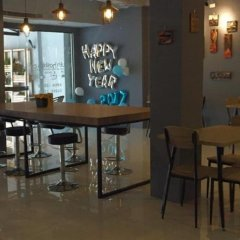 Qing lian Youth Hostel&Cafe гостиничный бар