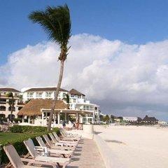 Отель Xaman Ha Condominiums Плая-дель-Кармен пляж фото 2