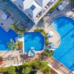 Отель Lordos Beach Кипр, Ларнака - 6 отзывов об отеле, цены и фото номеров - забронировать отель Lordos Beach онлайн бассейн