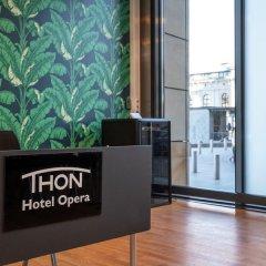 Thon Hotel Opera интерьер отеля фото 2
