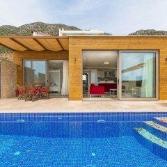Villa Teras 3 Турция, Патара - отзывы, цены и фото номеров - забронировать отель Villa Teras 3 онлайн бассейн фото 3