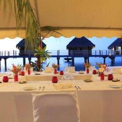 Отель Manava Beach Resort and Spa Moorea Французская Полинезия, Папеэте - отзывы, цены и фото номеров - забронировать отель Manava Beach Resort and Spa Moorea онлайн помещение для мероприятий