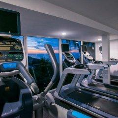 Отель Las Brisas Acapulco фитнесс-зал