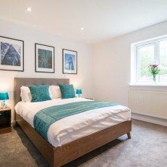 Отель Bluestone Apartments - Didsbury Великобритания, Манчестер - отзывы, цены и фото номеров - забронировать отель Bluestone Apartments - Didsbury онлайн комната для гостей фото 3