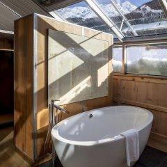 Отель Backstage Boutique Hotel Швейцария, Церматт - отзывы, цены и фото номеров - забронировать отель Backstage Boutique Hotel онлайн ванная фото 2