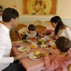 Wellness & Family Hotel Veronza Карано питание
