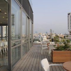Отель Gilgal Тель-Авив балкон