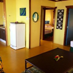 Отель Funky Fish Beach & Surf Resort Фиджи, Остров Малоло - отзывы, цены и фото номеров - забронировать отель Funky Fish Beach & Surf Resort онлайн комната для гостей фото 3
