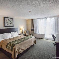 Отель Comfort Inn & Suites Downtown Edmonton комната для гостей фото 4