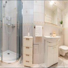 Отель P&O Apartments Marszalkowska Польша, Варшава - отзывы, цены и фото номеров - забронировать отель P&O Apartments Marszalkowska онлайн ванная