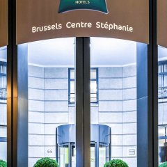 Отель Ibis Styles Brussels Centre Stephanie Брюссель банкомат
