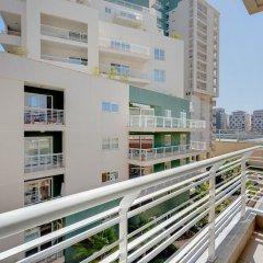 Отель Cosy 1 Bedroom Sliema Apartment, Best Location Мальта, Слима - отзывы, цены и фото номеров - забронировать отель Cosy 1 Bedroom Sliema Apartment, Best Location онлайн балкон