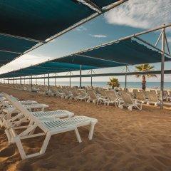 Club Grand Side (Amazon Water World) Турция, Сиде - отзывы, цены и фото номеров - забронировать отель Club Grand Side (Amazon Water World) - All Inclusive онлайн пляж фото 2