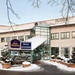 Отель JAEGERSRO Мальме фитнесс-зал