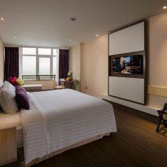 Отель Halong Pearl Халонг сейф в номере