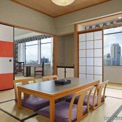 Отель Hilton Fukuoka Sea Hawk Япония, Фукуока - отзывы, цены и фото номеров - забронировать отель Hilton Fukuoka Sea Hawk онлайн комната для гостей фото 2