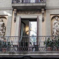 Отель Pension 45 Барселона балкон