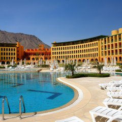 Отель Strand Beach and Golf Resort Taba Heights бассейн