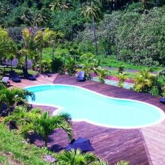 Отель Tiahura Dream Lodge Французская Полинезия, Муреа - отзывы, цены и фото номеров - забронировать отель Tiahura Dream Lodge онлайн бассейн