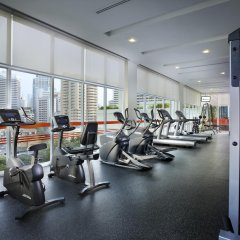 Отель Lohas Residences Sukhumvit Бангкок фитнесс-зал