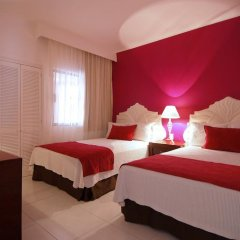 Отель Villas Vallarta By Canto Del Sol Пуэрто-Вальярта комната для гостей