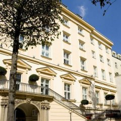 Отель The Grand Mark Prague вид на фасад фото 2
