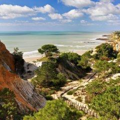 Отель Pine Cliffs Residence, a Luxury Collection Resort, Algarve Португалия, Албуфейра - отзывы, цены и фото номеров - забронировать отель Pine Cliffs Residence, a Luxury Collection Resort, Algarve онлайн пляж