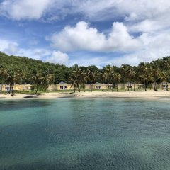 Отель The Liming Bequia пляж