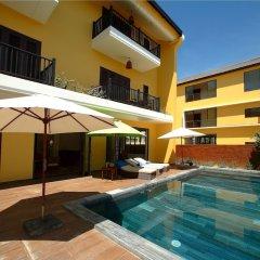 Отель Hoa Co Villas бассейн фото 3