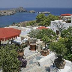 Отель Melenos Lindos Exclusive Suites and Villas пляж фото 2