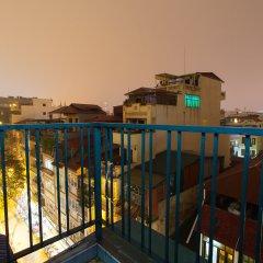 Отель Hanoi Sky View Hotel Вьетнам, Ханой - отзывы, цены и фото номеров - забронировать отель Hanoi Sky View Hotel онлайн балкон