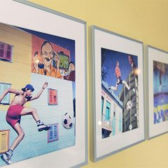 The Circus Hostel фитнесс-зал фото 3