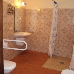 Отель Apartamentos Rurales Molino Almona ванная