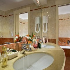 Отель Bristol Buja Италия, Абано-Терме - 2 отзыва об отеле, цены и фото номеров - забронировать отель Bristol Buja онлайн ванная