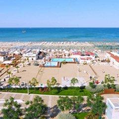 Отель Al Cavallino Bianco Италия, Риччоне - отзывы, цены и фото номеров - забронировать отель Al Cavallino Bianco онлайн пляж фото 2