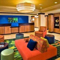 Отель Fairfield Inn And Suites By Marriott Lake City Лейк-Сити интерьер отеля